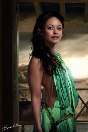 ... of Oenomaus & servant in Batiatus' Ludus. - Marisa Ramirez - Spartacus