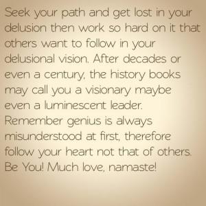 Delusional quote #2