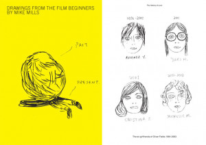 Mike Mills Drawings from the Film Beginners cover 148