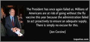 Flu Vaccine Quotes