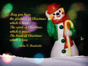 The Heart of Christmas Wish Is Love Christmas Quotes