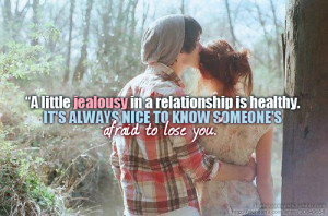 boy, cute, girl, jealous, jealousy, love, love quotes, love sayings ...
