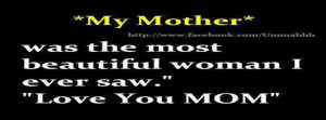 Missing Mom Quotes For Facebook Love mother quote quotes