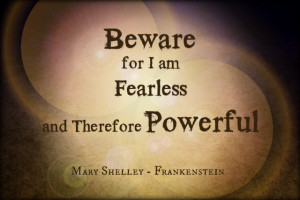 Quote of the Week: Frankenstein by Mary Shelley