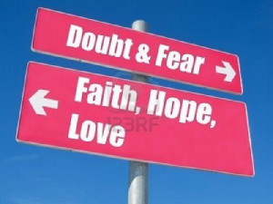 fear versus faith quotes - Google Search