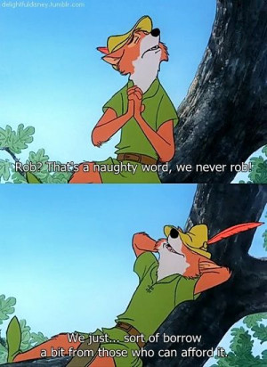 Robin Hood- movie quote