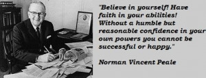 Norman vincent peale famous quotes 1