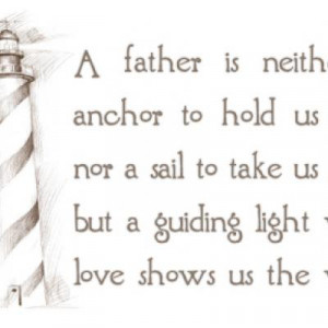 Father Is A Guiding Light {Father's Day Quotes}