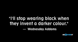 black magic 10 fashion quotes only people who love dressing in black ...