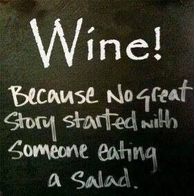 Great #wine quote to get you ready for 543-2days!