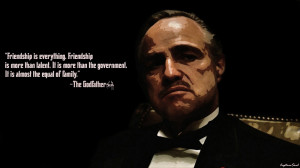 Godfather Wallpaper Quotes The godfather-vito corleone