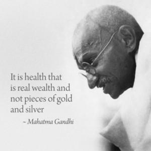 Gandhi love.