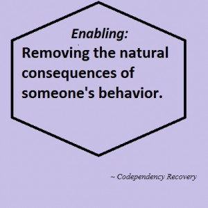 Are You an Enabler and What You Can Do