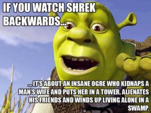 Do you think DreamWorks Studios is aware of all the Shrek meme stuff?