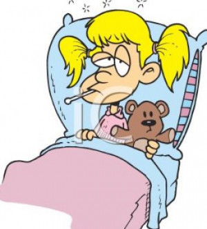Sick little girl cartoon pictures 1
