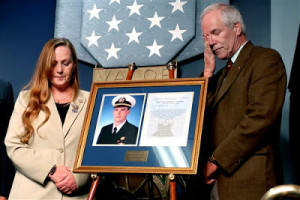 ... Lt. Michael P. Murphy was inducted into the Hall of Heroes at the