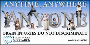 about traumatic brain injuries during injury awareness month