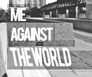 Me Against The World cover art