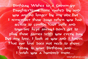 happy 18th birthday wishes to my daughter