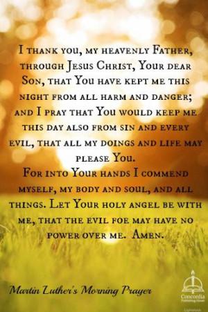 ... Quotes Martin Luther, Martin Luther Quotes Lutheran, Good Night Prayer