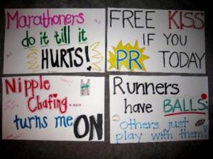 Funny Marathon Signs (20 Pics)