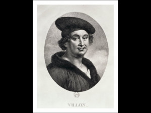 Portrait of Francois Villon (1431-63)