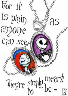 My living room... jack and sally .. LOVE