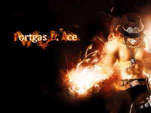 portgas d ace black wallpaper from one piece anime portgas d ace black ...
