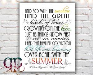 圖片標題: great gatsby poster great gatsby quotes