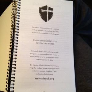 The study book was 200+ pages long and PACKED with great bible ...