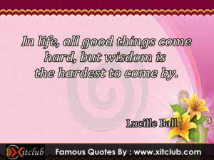 15 Most Famous Quotes By Lucille Ball