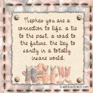 Aunt Quotes for Facebook   Family Nephew Comments, Images, Graphics ...