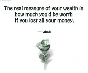The Real Measure Of Your Wealth