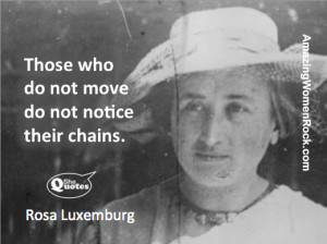 Rosa Luxemburg on freedom #SheQuotes #quotes #revolution #freedom # ...