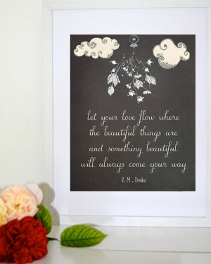 ... Drake quote, wall decor - 8x10 Inch downloadable print