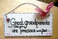Great Grandparents gift £5.50, www.facebook.com/cosycottagesomerset ...