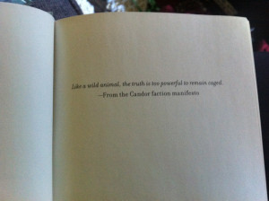 Veronica Roth: Insurgent Hardcover Sneak Peek (Also:
