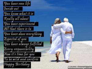 is a unique milestone 70th birthday poems a seventieth birthday is a ...