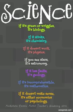 Hilarious! Science perception quotes via www.Venspired.com and www ...
