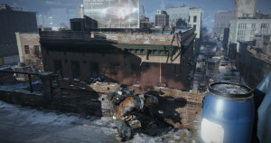 Tom Clancy's The Division gets new rooftop battle screen
