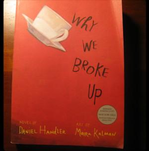 review of Why We Broke Up (ages 15 and up)