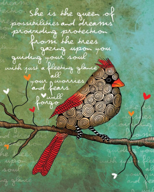 ... / Female Cardinal #Divorceism #trashthedress inspirational quote
