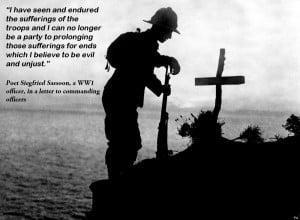 ... How Those Who Served Described The First World War, On Remembrance Day