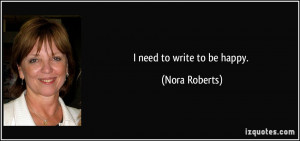 More Nora Roberts Quotes