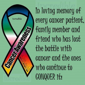 who lost the battle to cancer. Help educate others about Cancer ...