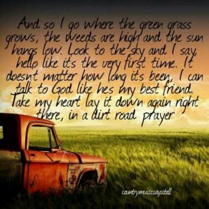 Lauren alaina- Dirt Road Prayer