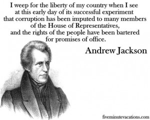 Andrew Jackson Quotes Indians