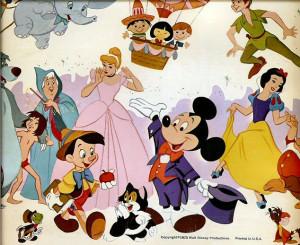 Labels: cartoon characters