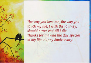 happy wedding anniversary quotes for husband from wife for him