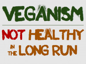 Veganism–Not Healthy in the Long Run?